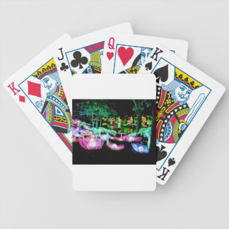 Water LIly Light Up Night Photography Bicycle Playing Cards