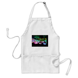 Water LIly Light Up Night Photography Standard Apron