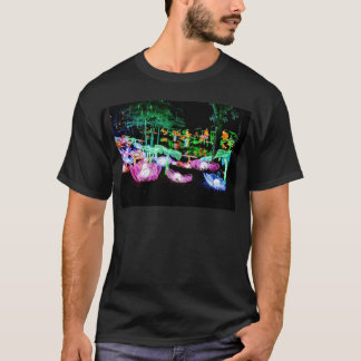 Water LIly Light Up Night Photography T-Shirt