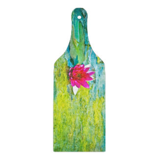 Water Lily Lilypad Cutting Boards