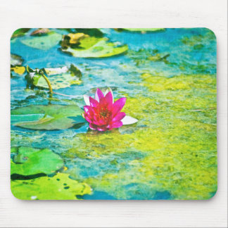 Water Lily Lilypad Mouse Pads