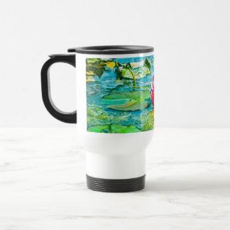 Water Lily Lilypad Coffee Mugs