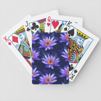 Water Lily Modern Bicycle Playing Cards