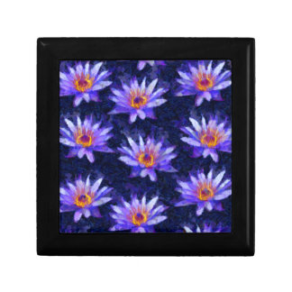 Water Lily Modern Gift Box