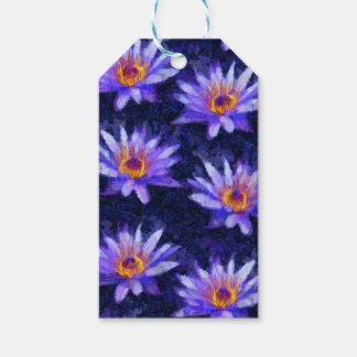 Water Lily Modern Gift Tags