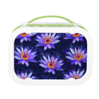 Water Lily Modern Lunch Box