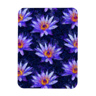 Water Lily Modern Magnet