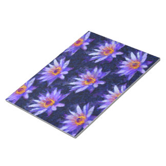 Water Lily Modern Notepad