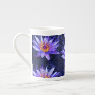Water Lily Modern Tea Cup