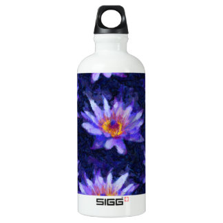Water Lily Modern Water Bottle