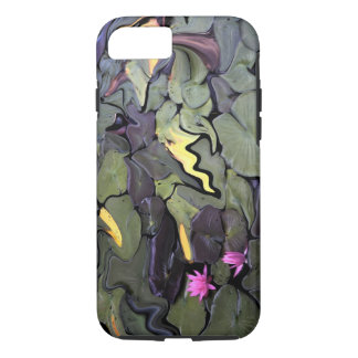 Water Lily Mosaic Phone Case