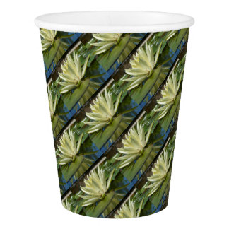 Water lily paper cup