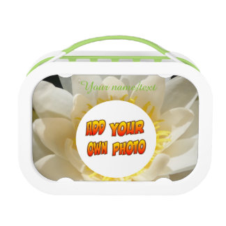 Water Lily Photo Lunch Box