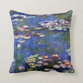 Water Lily Pond American MoJo Pillow Throw Cushion