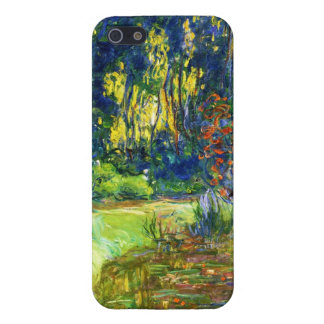 Water Lily Pond Claude Monet cool, old, master, ma iPhone 5 Cover