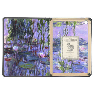 Water Lily Pond Purple Reflections iPad Air Cases