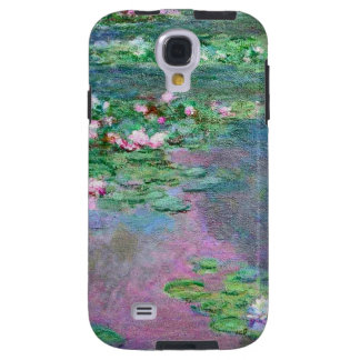 Water Lily Pond Reflections Galaxy S4 Case