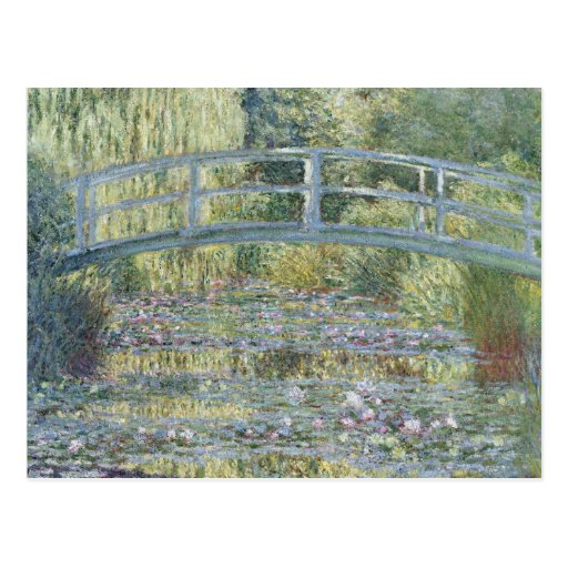 Water-Lily Pond, Symphony in Green - Claude Monet Post Cards