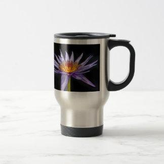 Water Lily Tropical Purple Mug