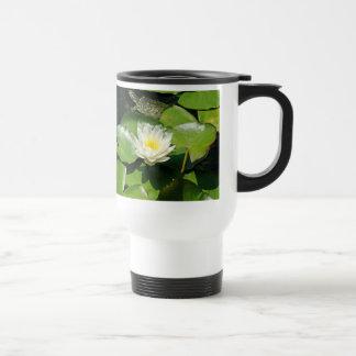 Water Lily & Turtle Mug
