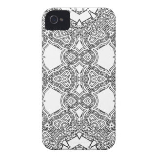 Water Line Loops iPhone 4 Covers