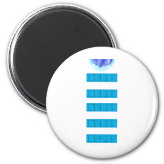 Water Magic Head Down Refrigerator Magnets