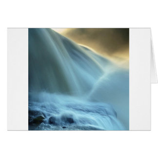 Water Makes Blurred Vision Greeting Cards