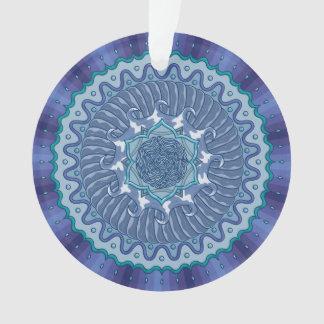 Water Mandala Acrylic Ornament