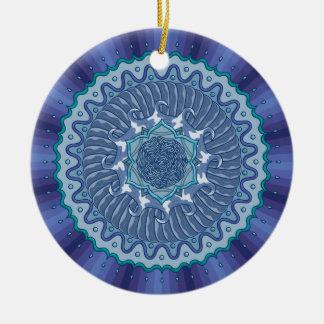 Water Mandala Ornament