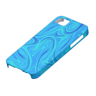 Water marbled pattern design iPhone 5 cases