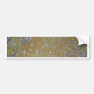 Water Marbling - Cosmos Bumper Sticker