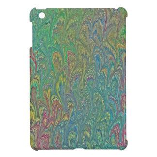 Water Marbling - Tropical Frog Feet iPad Mini Covers