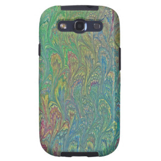 Water Marbling - Tropical Frog Feet Samsung Galaxy S3 Cover