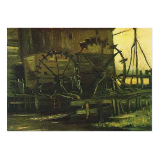 Water-Mill-at-Gennep, van gogh Business Card Template