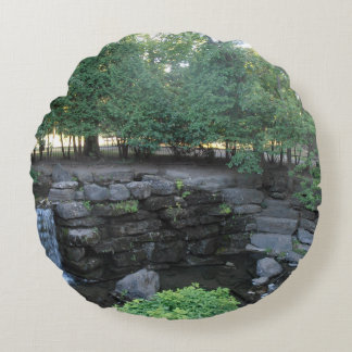 Water Oasis Round Cushion