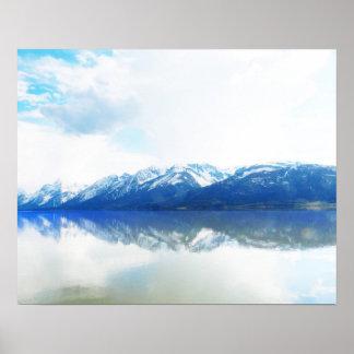 Water of Teton Poster