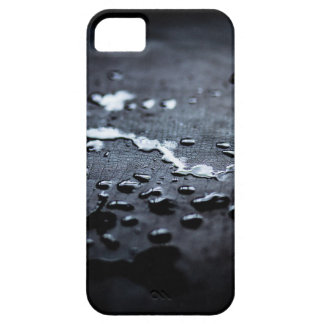 Water on Charred Wood Mobile Phone Case