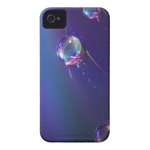 Water on Plastic Abstract Blackberry Case