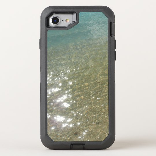 Water on the Beach I Abstract Nature Photography OtterBox Defender iPhone 8/7 Case