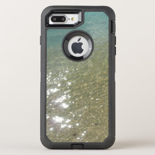 Water on the Beach I Abstract Nature Photography OtterBox Defender iPhone 8 Plus/7 Plus Case