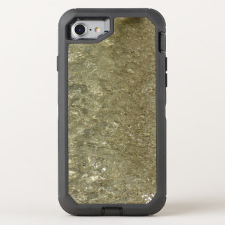 Water on the Beach II Abstract Nature Photography OtterBox Defender iPhone 8/7 Case