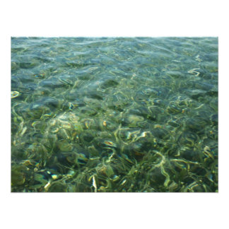 Water over Sea Grass Photo Print