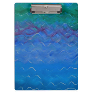 Water Painted on a Clipboard