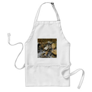 Water Pebble Stream Standard Apron