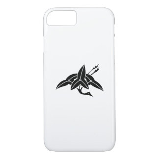 Water plantain crane iPhone 8/7 case