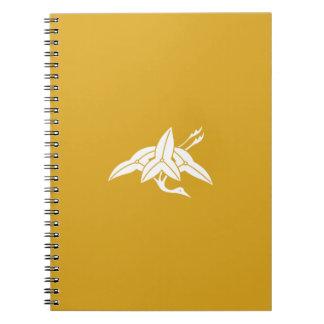Water plantain crane notebook
