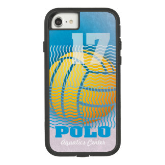 Water Polo #17 on Cyan Case-Mate Tough Extreme iPhone 8/7 Case