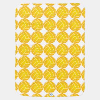 Water Polo Ball Blanket - Yellow Pramblankets