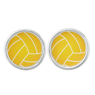 Water Polo Ball Round cufflinks