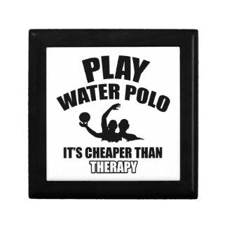 water polo design gift box